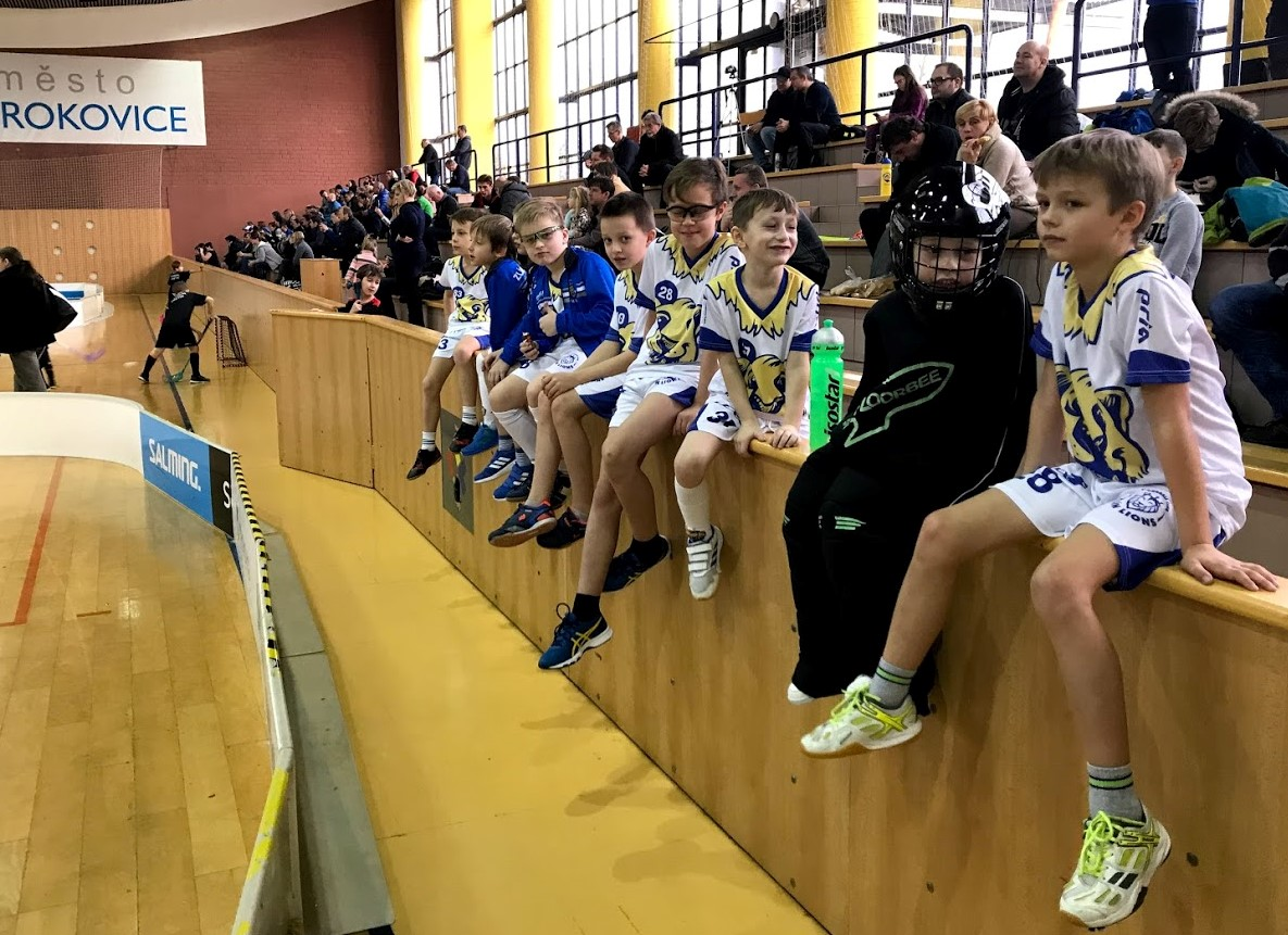 Nejmladší Lvi na turnaji v Otrokovicích